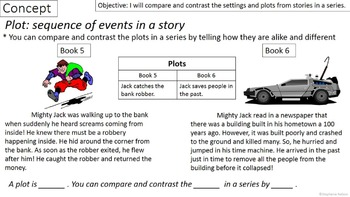 RL 3.9 PowerPoint: Stories in a Series