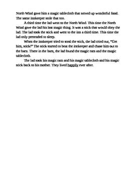 RL.3 Assessment (4th grade)