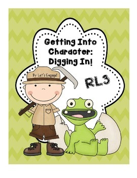RL 3 Getting Into Character! Digging In