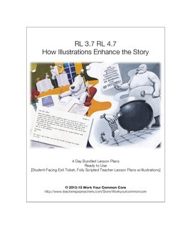 RL 3.7 4.7 4-Day Scripted UNIT How Illustrations Enhance the Story 3rd 4th