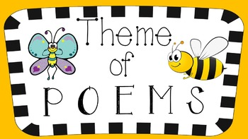 RL 4.2 & 5.2 PowerPoint: Determine the Theme of Poems