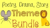 RL 4.2 & 5.2 Theme of Poetry, Drama, and Stories Bundle