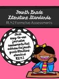 RL.4.2 Fourth Grade Literature Standard Formative Assessme