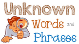 RL 4.4 and 5.4 PowerPoint: Unknown Words and Phrases