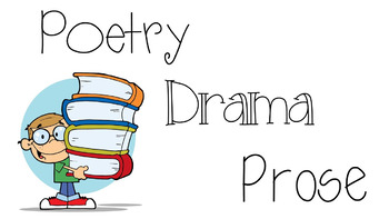 RL 4.5 PowerPoint: Explain the Differences Between Poetry,