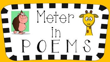 RL 4.5 PowerPoint: Meter in Poems