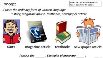 RL 4.5 PowerPoint: Prose