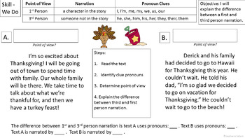 RL 4.6 PowerPoint: First and Third Person Narration