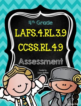 RL.4.9 / LAFS.4.RL.3.9 Compare Topics & Themes Across Cultures Assessment