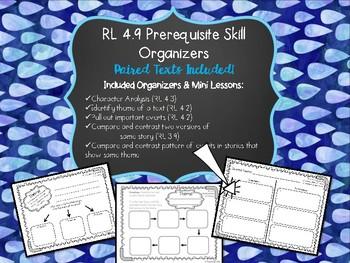 RL 4.9 Prerequisite Skill Organizers