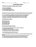 """RL 4.2 & RL.5: """"Thirteen Moons on a Turle's Back"""" CCLS Questions"""
