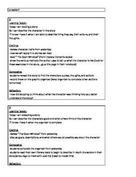 RL 4.3 (Describe character, setting)