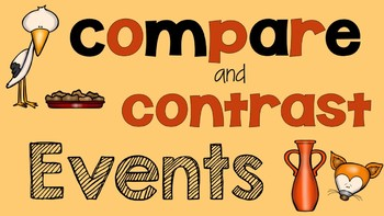 RL 5.3 PowerPoint: Compare and Contrast Events