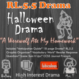 RL 5.5 Halloween Drama- Scenes Fit Together to Form Structure of Drama