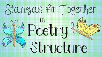 RL 5.5 PowerPoint: Stanzas Fit Together in Structure of Poems