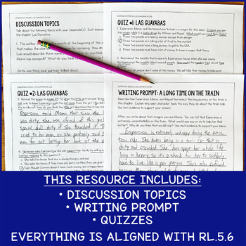 RL.5.6 Lesson To Use With Esperanza Rising