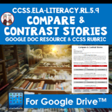 RL 5.9 Compare and Contrast Stories for Google Docs