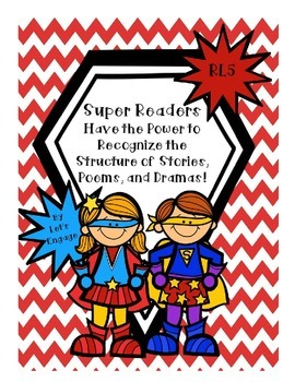 RL 5 Super Readers Have the Power!  Digging In