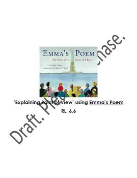 RL 6.6 Point of View study using Emma's Poem