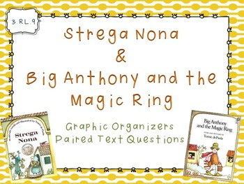 RL.9 Paired Text: Strega Nona & Big Anthony and the Magic Ring