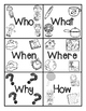 RL.K.1 No Prep Comprehension Stories with CVC and Pre Primer Sight Words