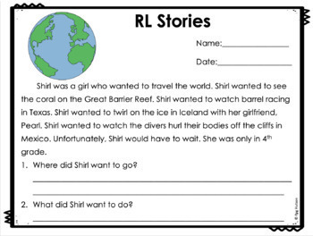 RL Word Cards for Articulation