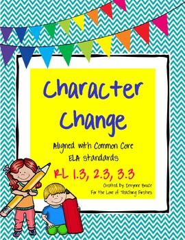 RL1.3 Character Change Reading Responses