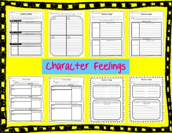 RL1.3 Character Feelings Reading Responses