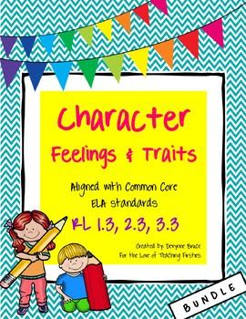 RL1.3 Character Feelings and Traits Bundle