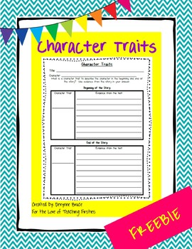 RL1.3 Character Traits Freebie