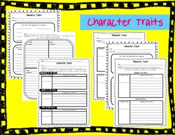 RL1.3 Character Traits Reading Responses
