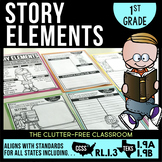 RL1.3 STORY ELEMENTS  First Grade  (CCSS RL 1.3 and TEKS 1