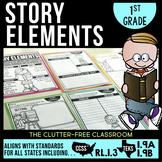 RL1.3 STORY ELEMENTS  First Grade  (CCSS RL 1.3 and TEKS 1