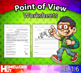 RL.1.6 - Point of View Worksheets