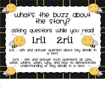RL.1 Ask Questions While you Read Bees SMARTBoard Lesson