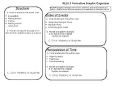 RL10.5 Mystery, Tension, and Surprise Graphic Organizer