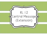 RL.1.2 - Central Message (Theme) Extension