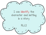 RL.1.2 Identify Character and Setting PPT