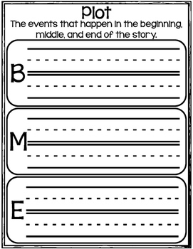 Retelling Puzzle Pieces and Worksheets