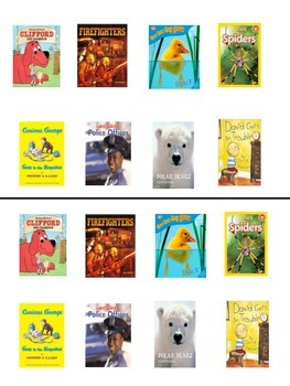 RL.1.5 Books that give information and books that tell stories sort