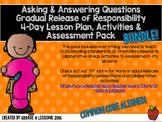 RL2.1 Asking & Answering Questions Gradual Release Mini-Lesson & Activity BUNDLE