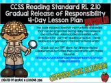 RL2.10 Comprehending Literature Gradual Release Mini-Lesson & Activity BUNDLE