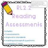 Fable & Folktale Assessments - RL2.2