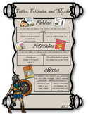 RL2 Fables, Folktales, and Myths Anchor Chart- 3rd Grade