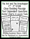 RL.2 RL.3 Common Core Aligned Assessment, Close Reading Passage, Anchor Chart