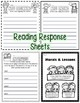 RL.2 RL.3 Common Core Aligned Assessment, Close Reading Pa