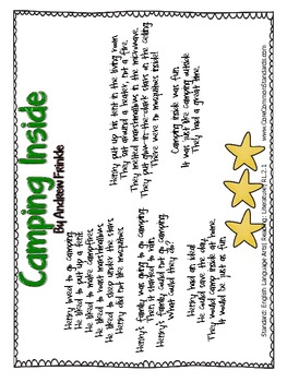 RL.2.1 Second Grade Common Core Worksheets, Activity, and Poster