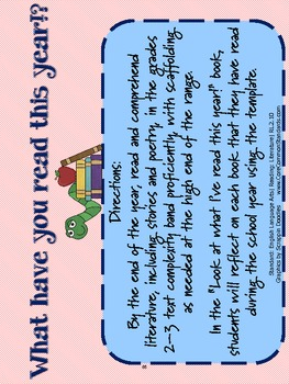RL.2.10 Second Grade Common Core Worksheets, Activity, and Poster
