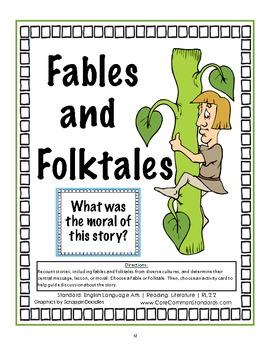 2 FREE ESL folktales worksheets