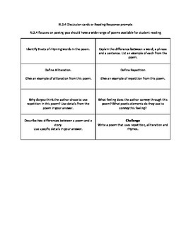 RL2.4 Question Cards